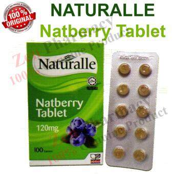 Harga Naturalle Natberry 100 Tablets