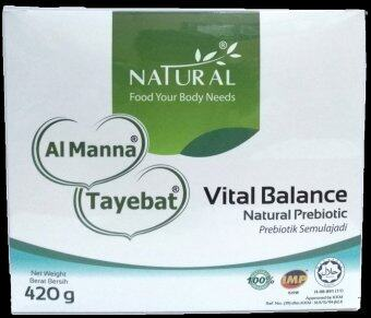 Harga Natural Vital Balance Natural Prebiotic 420g