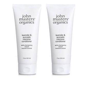 Harga 2 x John Masters Organics Lavender & Avocado Intensive Conditioner 7oz, 207ml