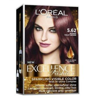 Harga L'Oreal Paris Excellence Fashion #5.62 Int Violet Brown