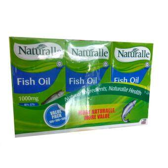 Harga Naturalle Fish Oil 1000mg 3x100s