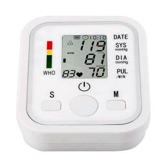 Harga Automatic Digital Arm BP Blood Pressure Monitor Sphgmomanometer Health Care