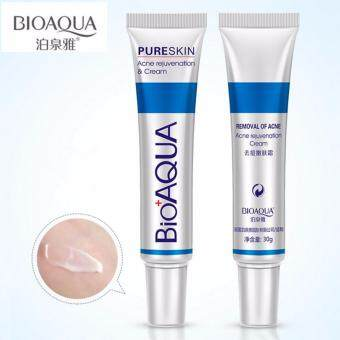 Harga BIOAQUA Brand Skin Care Face Acne Treatment Acne Scars Cream Anti Acne Removal Gel Whitening Moisturizing Cream 30g