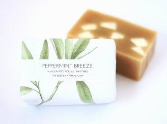 Harga The Seeds Natural - Peppermint Breeze Handmade Soap