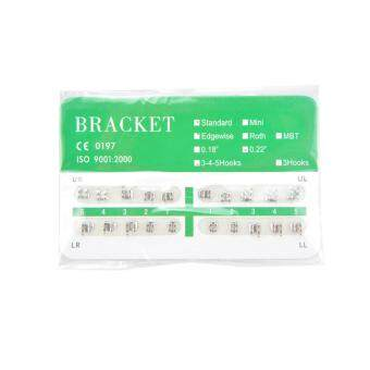 Harga Standard Edgewise 022 3-4-5 Hooks New Dental Dentist Orthodontics Brackets - 20Pcs/Pack