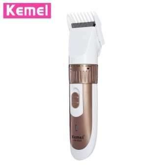 Harga SH KEMEI - 9020 Rechargeable Hair Trimmer Clipper Shaver Cutter Styling Kit for Men Gold size:eu plug Gold
