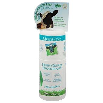 Harga MooGoo Fresh Cream Deodorant 60ml