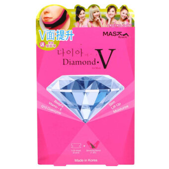 Harga Mask House Diamond V Fit Mask 5pcs with Slimming band