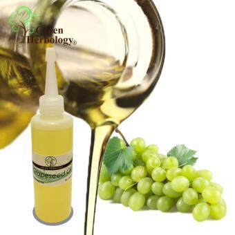Harga Pure Grapeseed Oil, Cold Pressed, Natural Carrier Oil 100ml