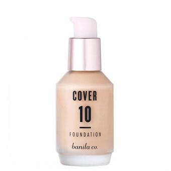 Harga Banila co Cover 10 FOUNDATION SPF30 PA++ BP15 30ML