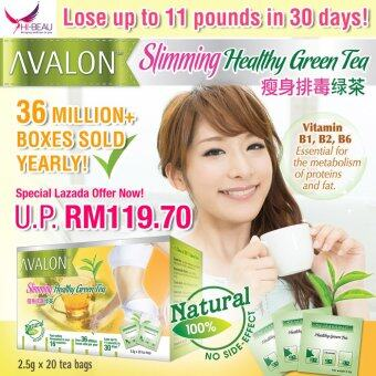 Harga AVALON™ Slimming Healthy Green Tea