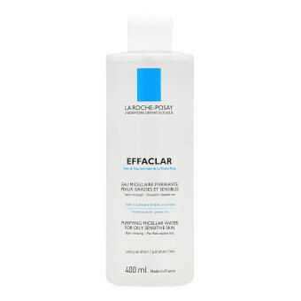 Harga La Roche Posay Effaclar Purifying Micellar Water (for Oily and Sensitive Skin) 400ml