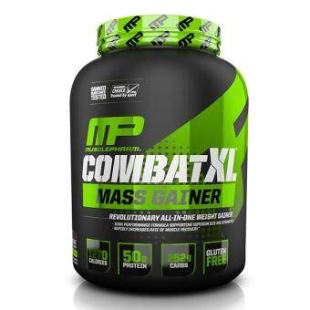 Harga MusclePharm Combat XL Mass Gainer, Chocolate, 6lbs
