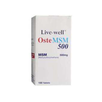 Harga Live Well Oste Msm 500Mg 150'S