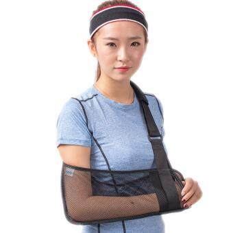 Harga (Size M)Breathable Wrist Brace Forearm Arm Sling Shoulder Dislocated Arm Fractures Brace