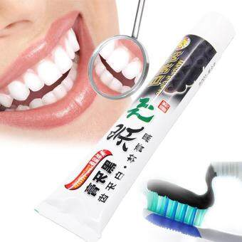 Harga Black Bamboo Charcoal Toothpaste Oral Hygiene Remove bad Breath Bacteria to Prevent Oral Ulcers to Protect Whitening Teeth