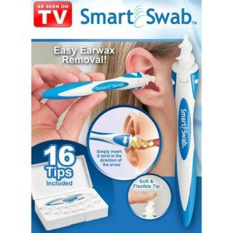 Harga Smart Swab Safe Ear Cleaner Soft Spiral Ear Cleaner Easy Earwax Removal With 16 Replacement Heads
