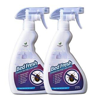 Harga Bed Fresh Eradicate Bed Bugs And Dustmite Spray 500ml X 2