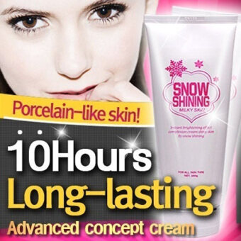 Harga COC ♥ Snow Shining Milky Skin (Brightening) / Whitening lotion / 10-hours long lasting / whitening / brightening