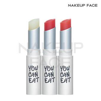 Harga [Nakeup Face] You Can Eat Lip Balm 3 Color No.02 Pink/Lip Tint/Lip Stick/Lip Gloss/Lip Makeup/