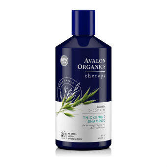 Harga Avalon Organics Biotin B-Complex Thickening Shampoo - Hair Grow / Anti Hair Fall 414ml