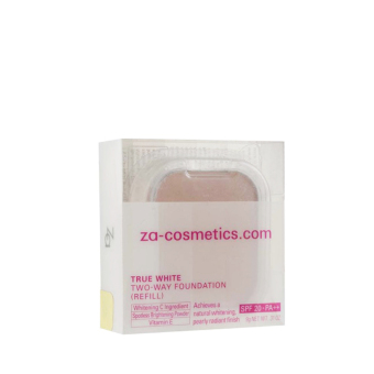 Harga ZA True White Plus 2-way Foundation Refill 21 1's