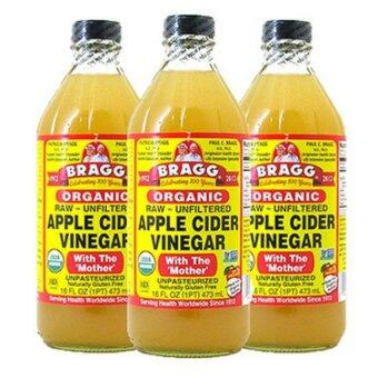 Harga (Original) Bragg Organic Apple Cider Vinegar 946ml x 3 bottles