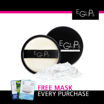 Harga Eglips Pore Blind Powder + Free 1 Pcs 3W Clinic Mask Sheet [Buy 1 Get 1 Freebie]