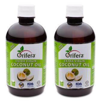 Harga Orifera Virgin Coconut Oil Nutritious & Supplements Health & Natural - 500ml (X2 Bottles)