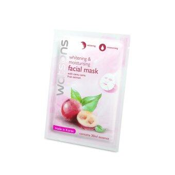 Harga WATSONS Whitening & Moisturising With Camu Camu Fruit Extract Mask 1s