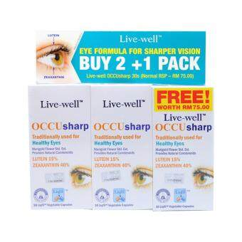 Harga LIVE WELL OCCU SHARP BUY 2 + 1 PACK