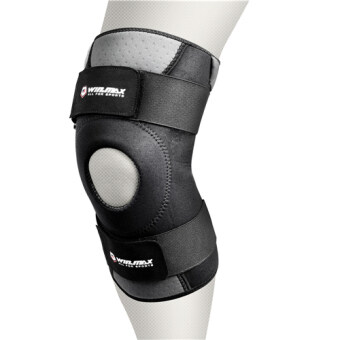 Harga Winmax sport WMF09013 Adjustable Knee Support-L (Black)