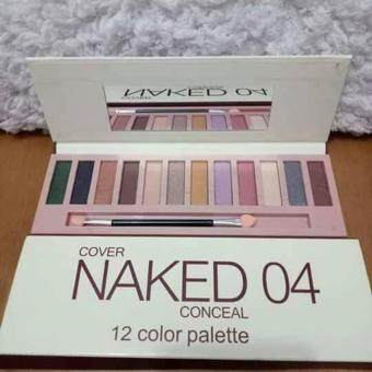 Harga Naked 04 NEW Cover Conceal 12 colour palette