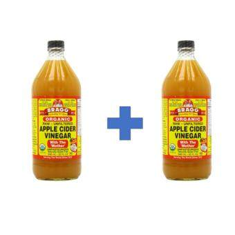 Harga BRAGG APPLE CIDER VINEGAR 946ML x 2