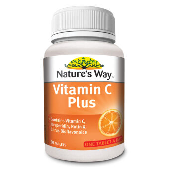 Harga Nature's Way Vit C Plus 1000mg 50's
