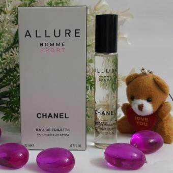Harga [Tester- HOT SELLING] Chanel Allure Homme Sport EDT 20ML For Men - Pocket Perfume