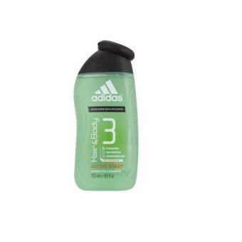 Harga Adidas Hair & Body 3 Pro-Vitamin B5 Active Start Shower Gel & Shampoo 250ml
