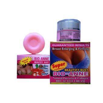 Harga Bio-Anne Breast Enlarging & Firming Cream (FREE Bust Up Soap)