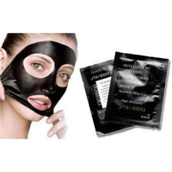 Harga 50 Pieces of Shiseido Black Mask / Bamboo Shiseido Black Mask