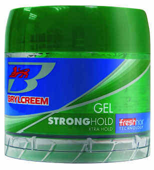 Harga Brylcreem Strong Hold Hair Styling Gel 125 ml