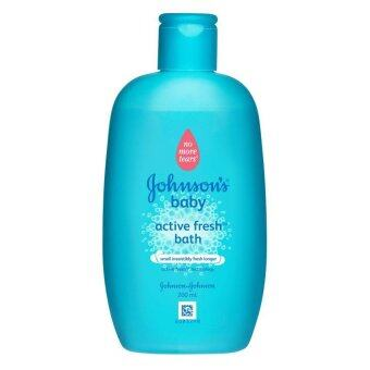 Harga Johnson's Active Fresh Bath 200ml