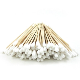 "Harga Gracefulvara 100 Pcs 6"" Cotton Swab Applicator Q-tip Extra Long Sterile Swabs"