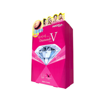 Harga Mask House Slimming Series Diamond V Fit Mask 1box/6pcs