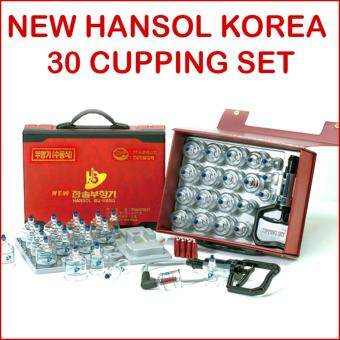 Harga Hansol Buhang Korea 30 Cupping Set for Body Healthy Apparatus Acupuncture