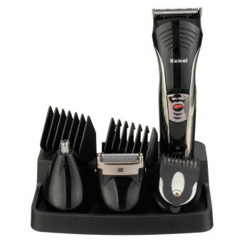 Harga Professional KM-590A Men's Handy Electric Beard Hair Shaver Razor Trimmer Clipper Set