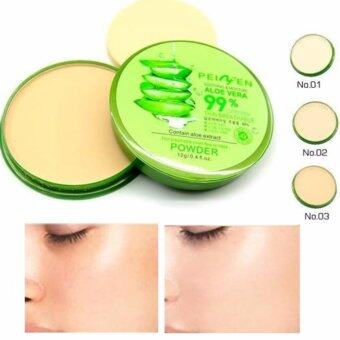 Harga Aloe Vera 99% Compact Powder Soothing & Moisture (No. 3)