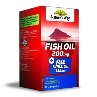 Harga Nature's Way Fish Oil + Red Krill Oil 90's