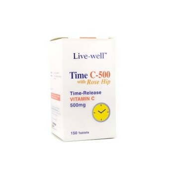 Harga Live Well Time C 500mg 150