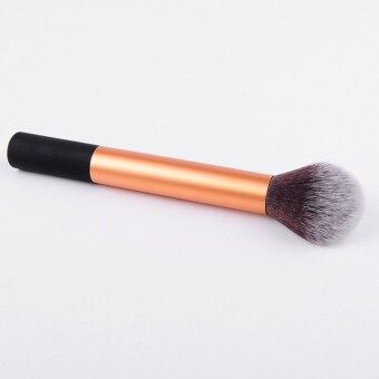 Harga Makeup Powder Brush Beauty Tool Makeup brush loose paint blush brush golden long straight pipe