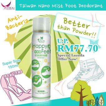 Harga Fay Jardin Happy Feet Nano Mist Spray- Green Tea Scent